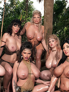 BBW Group-sex Pictures